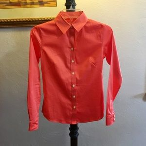 Polished cotton High end button down